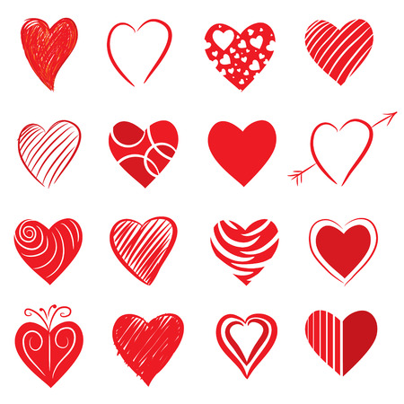 Heart Shapes Vector