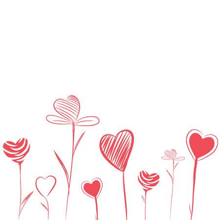 Love Flowers Vector