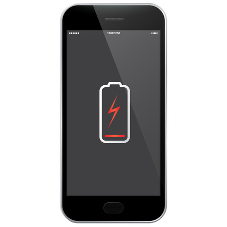 low battery: Mobile Phone - Low Battery