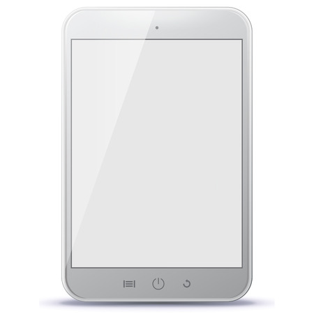 ipad2: White Tablet Computer