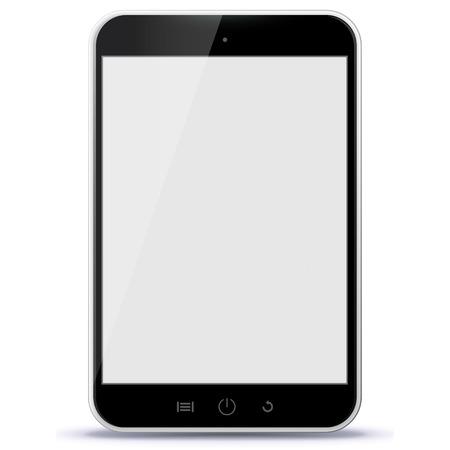 electronic tablet: Black Tablet Computer