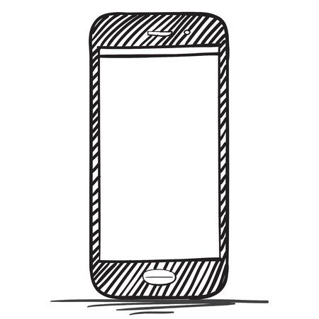 smart phone: Smart Phone drawing