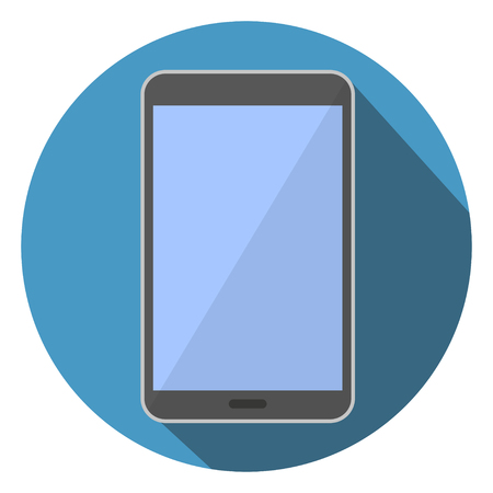 i pad: Flat Icon Vector Illustration Tablet Computer