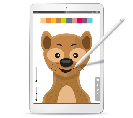 Drawing Tablet Computer and Pen