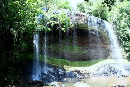 Ngardmau waterfalls, Palau Ngardmau waterfalls is in Ngardmau State in the Republic of Palau (Belau)