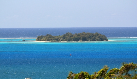 Managaha Island, a small islet off the west coast of Saipan is one of the top attractions of the Northern Mariana Islands.