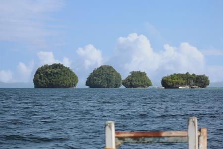 Beautiful islands of Britania, Lianga, Surigao del Sur, Philippines