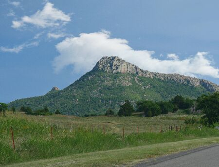 Breathtaking view of the Wichita Mountains in Oklahoma.