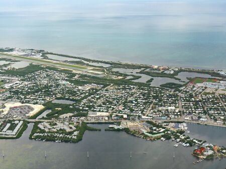 Aerial view of Key West, the southernmost point of Florida