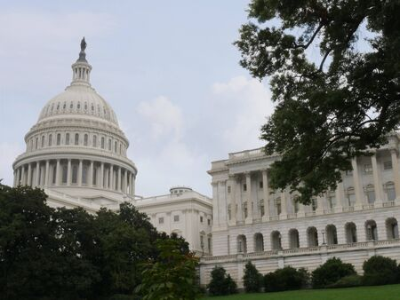 The United States Capitol Building in Washington, D.C., the seat of the legislative branch of the U.S. federal government.