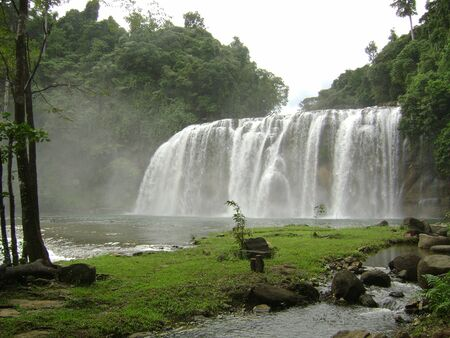 Tinuy-an Falls, dubbed as the Little Niagara Falls of the Philippines in Surigao del Sur.