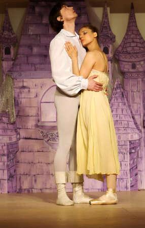 SAIPAN, CNMI—Russian International Ballet stars Alexey Nasadovich and Margarita Rudina in an emotional performance with the Glushko's Academy of Performing Arts in Saipan on May 2016.