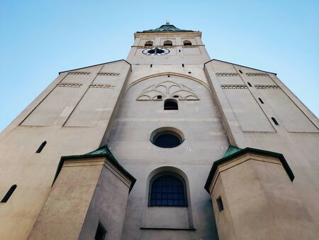 Tower of St. Peters Church, Munich, Bavaria, Germany.