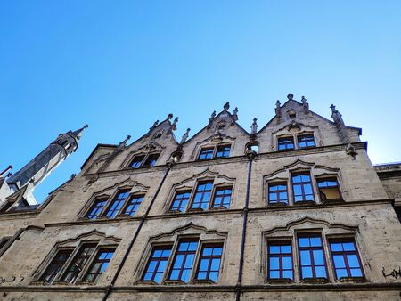 New Town Hall at Marienplatz Mary Square in Munich, Germany