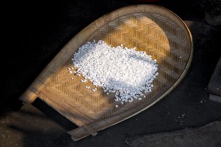 puffed rice. Banco de Imagens