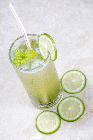 Lemonade, Cool soft Drinks