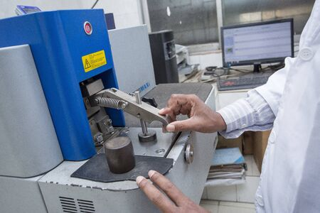 Spectrometers For Ultimate Performance in Metal Analysis 10000th SPECTROMAXx Device. Banque d'images