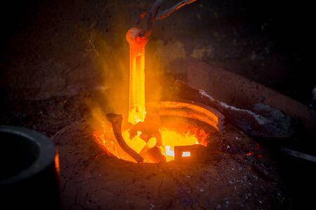 Hot scrap steel melting furnace Bangladesh