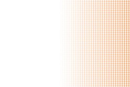 Orange arrows on white background