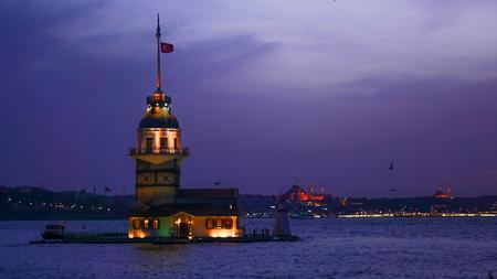 Maidens Tower (kiz kulesi) istanbul  Turkey