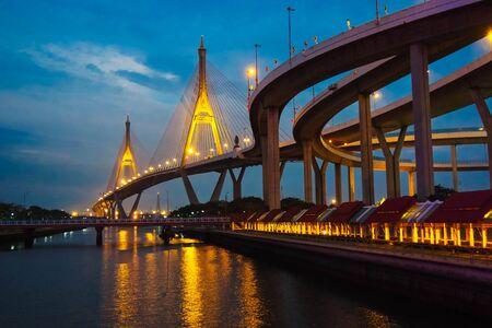 Фумипольский мост Таиланд