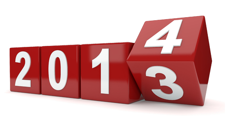 turns of the year: a�o 2013 se convierte en el a�o 2014