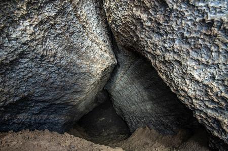 Horizon karst cave in gypsum Foto de archivo - 114122297