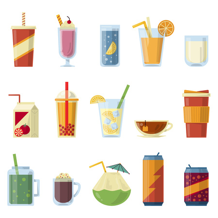 illustration with non alcoholic drinks vector pictures in cartoon rh 123rf com cartoon drinking wine cartoon drinking wine