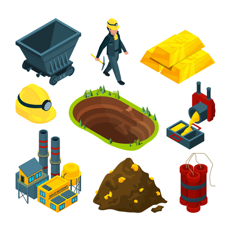 Isometric tools for mining industry
