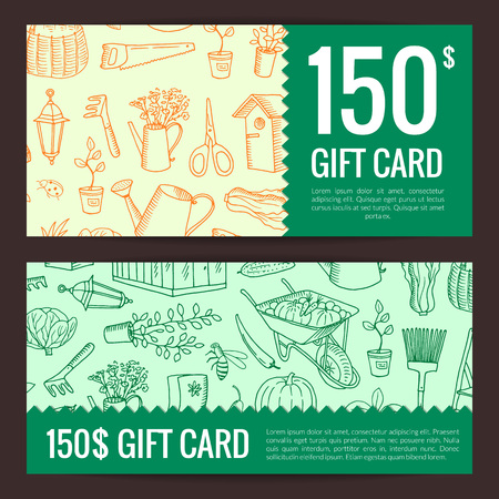 Vector gardening doodle icons discount
