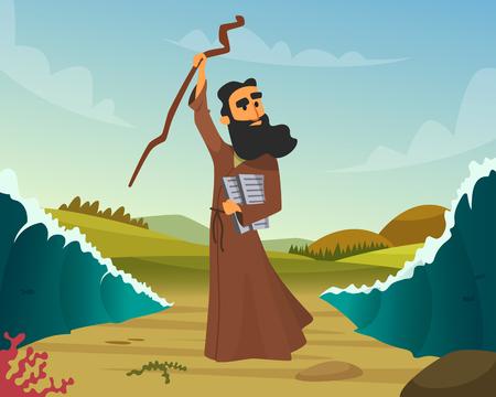 historische illustratie van bijbels verhaal