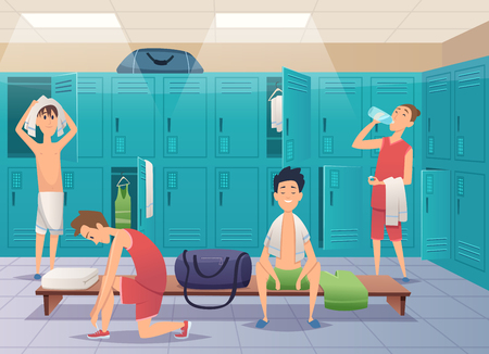 Gym locker stock illustrations cliparts and royalty free gym