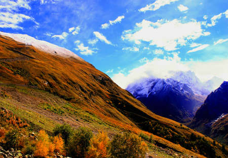 Mountain landscape Stock Photo - 15745621