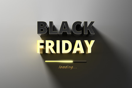 Banner for sales on black friday hot sale. Imagens