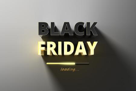 Bannière pour les ventes sur vente chaude vendredi noir.