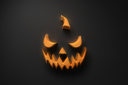 Very scary horror face for you halloween or dark party