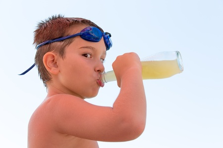 quench: Nothing can quench my thirst better than a bottle of lemonade.