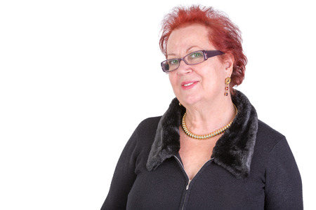 'body language': Senior adult lady looking in to your eyes and showing understanding and welcoming body language