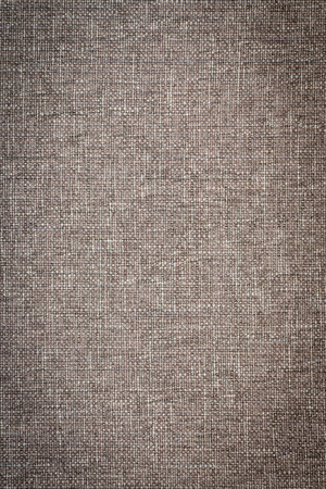 soft furnishing: Close Up Full Frame of Grey Woven Fabric Ideal for Background Stock Photo