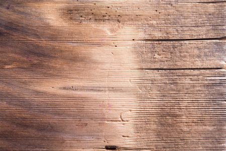 gouged: Close up Empty Old Textured Wooden Shim for Background with Copy Space for Texts.