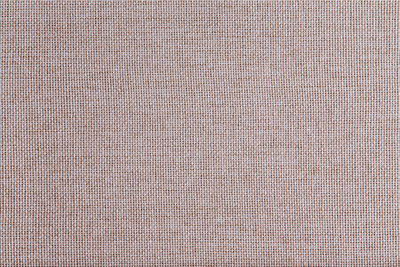 soft furnishing: Background texture of coarse woven beige fabric with an open mesh weave of natural fibers in a full frame view Stock Photo