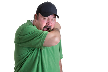 When Sneeze Always Cover Your Mouth With Your Arm if You Don't have a Tissue Imagens