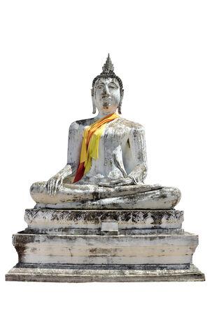 an obeisance: White Buddha