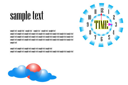sample: sample text background
