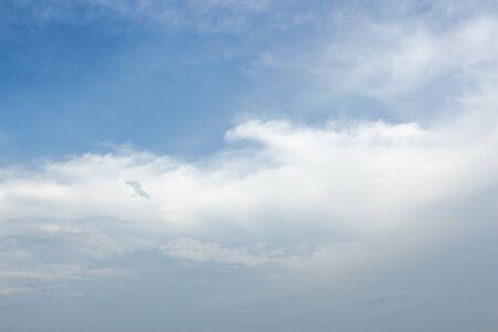 atmosfere: blue sky Archivio Fotografico