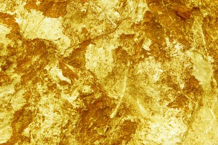 black color: stone surface of the gold Stock Photo