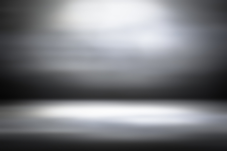 murky: Grey gradient abstract background  gray room studio background  dark tone  for used background or wallpaper Stock Photo