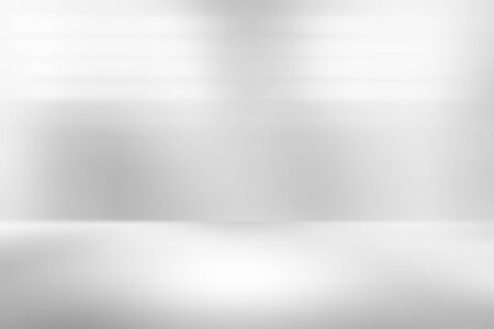 Gray empty room studio gradient used for background and display your product Banco de Imagens