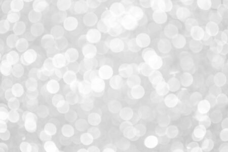 white blur abstract background. bokeh christmas blurred beautiful shiny Christmas lights