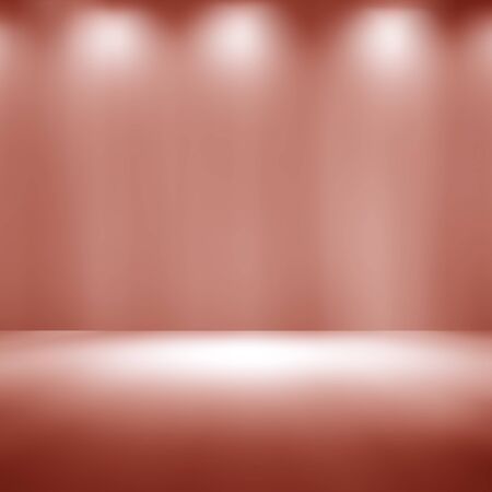 light brown empty room studio gradient used for background and display your product